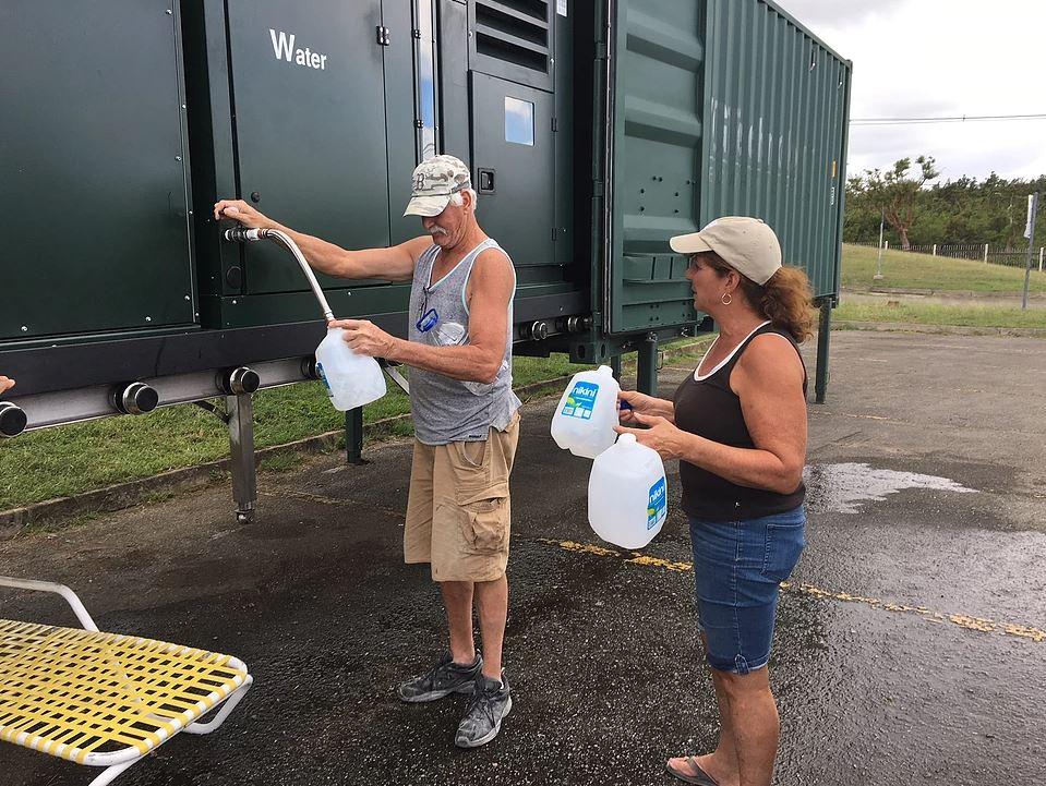 C5000 Puerto Rico Hurricane Maria - GENAQ: Agua del aire