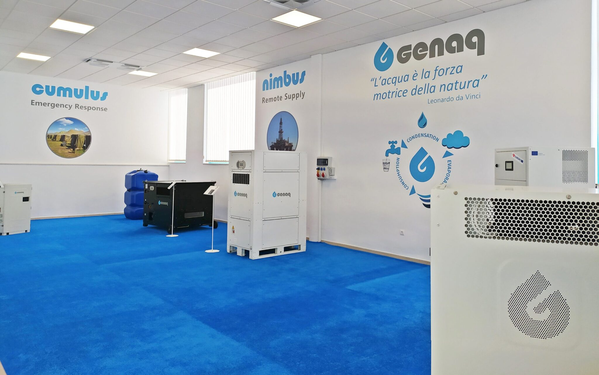 Where can we apply GENAQ technology scaled - ¿Dónde podemos aplicar la tecnología de GENAQ?