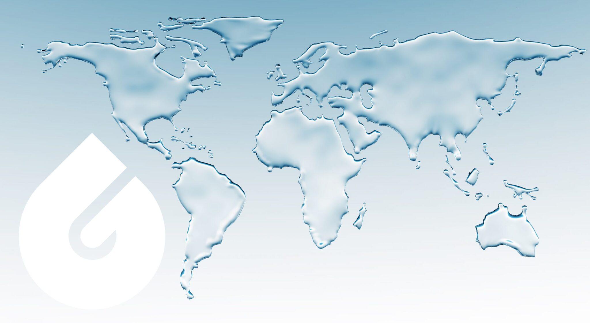 agua para el mundo scaled - Los Generadores Atmosféricos de Agua de GENAQ ya están presentes en más de 35 países de todo el mundo
