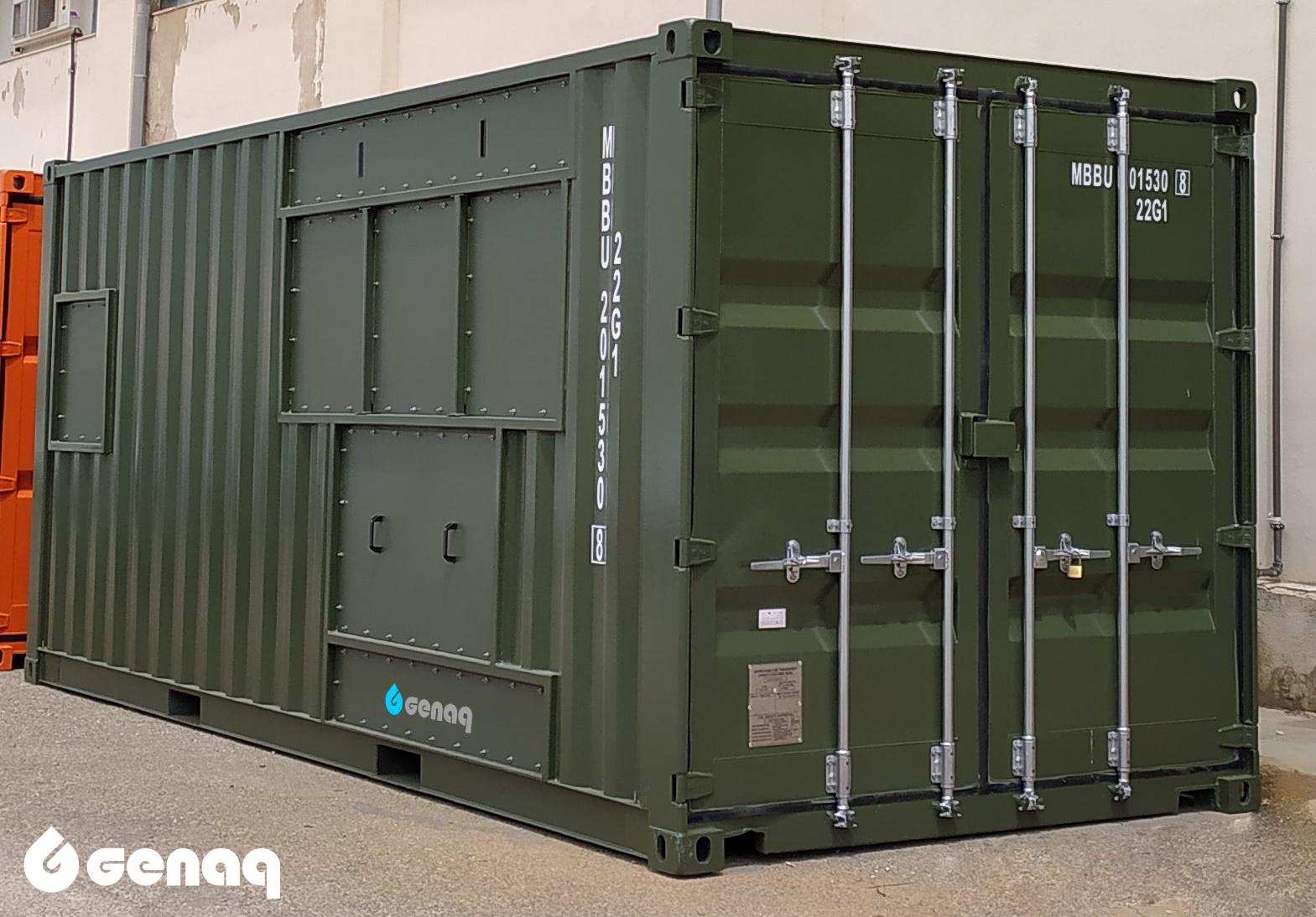generadores 200605 - Los contenedores de GENAQ: adaptados para viajar por todo el mundo